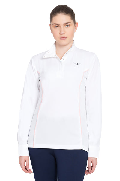 TuffRider Ladies Kirby Kwik Dry Long Sleeve Show Shirt_14