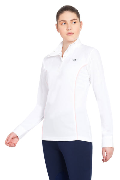 TuffRider Ladies Kirby Kwik Dry Long Sleeve Show Shirt_13