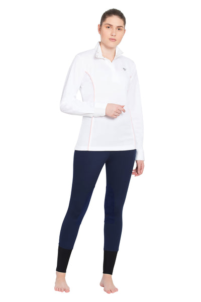 TuffRider Ladies Kirby Kwik Dry Long Sleeve Show Shirt_17