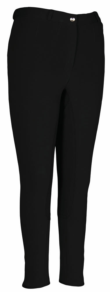 TuffRider Ladies Cotton FigureFit Full Seat Breeches (Long) - TuffRider - Breeches.com