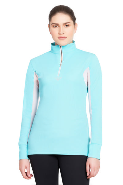 TuffRider Ladies Ventilated Technical Long Sleeve Sport Shirt_76