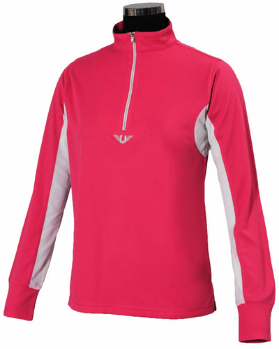 TuffRider Children's Ventilated Technical Long Sleeve Sport Shirt - TuffRider - Breeches.com