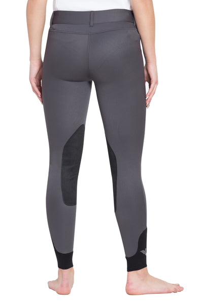 TuffRider Ladies Sydney Knee Patch Breeches w/ Contoured sock bottom (CSB)_13