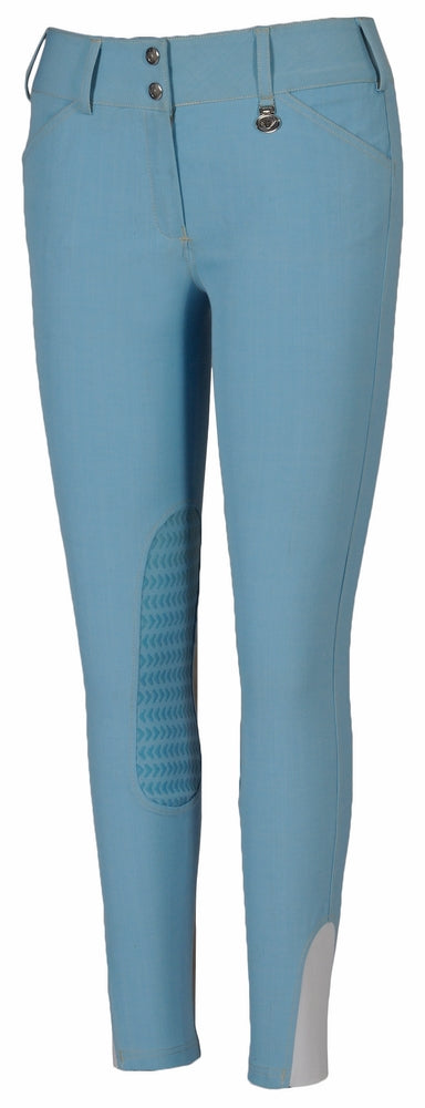 TuffRider Ladies Neon Knee Patch Breeches_1