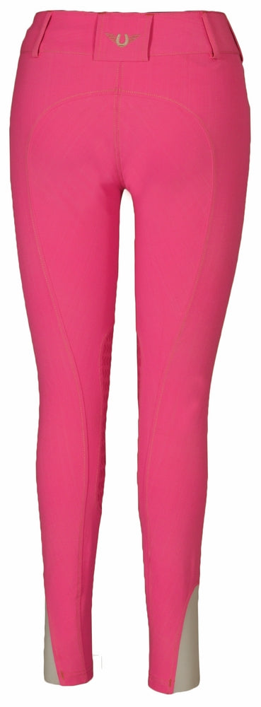 TuffRider Ladies Neon Knee Patch Breeches_5