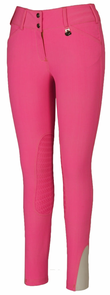 TuffRider Ladies Neon Knee Patch Breeches_4