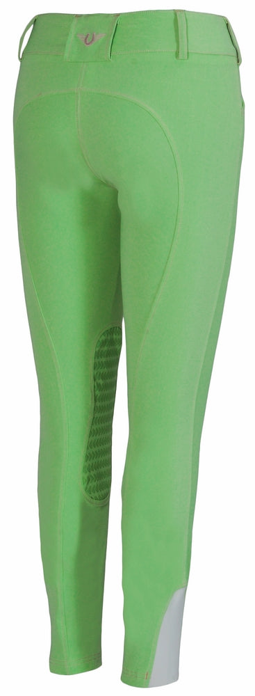 TuffRider Ladies Neon Knee Patch Breeches_8