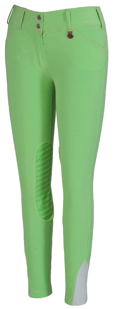 TuffRider Ladies Neon Knee Patch Breeches_7
