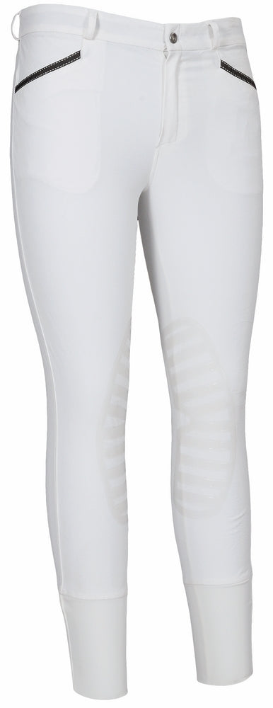 TuffRider Men's Tryon Silicone Knee Patch Breeches - Breeches.com