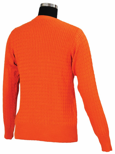TuffRider Ladies Classic Cable Knit Sweater_3