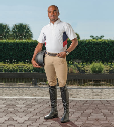 TuffRider Men's Bostonian Short Sleeve Show Shirt - Breeches.com
