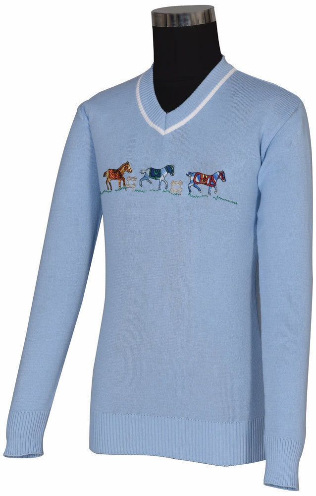TuffRider Children's Keeneland Sweater - Breeches.com