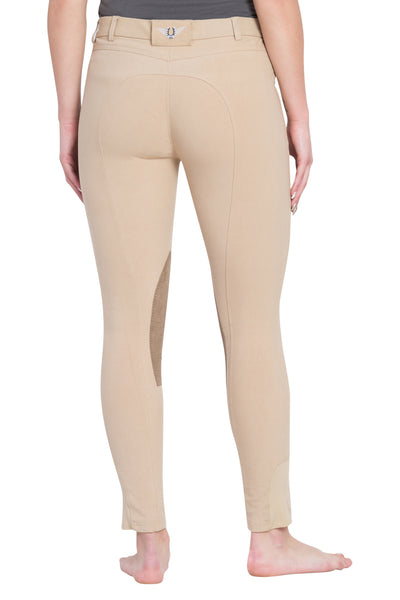 TuffRider Ladies Perfect Knee Patch Breeches - TuffRider - Breeches.com