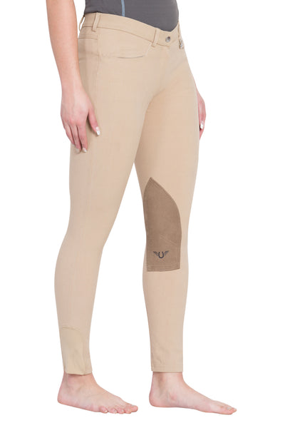 Ladies Perfect Knee Patch Breeches - TuffRider - Breeches.com