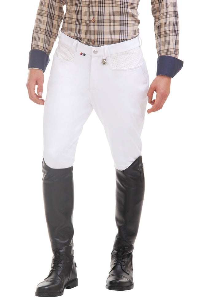 TuffRider Men's Oslo Knee Patch Breeches - Breeches.com