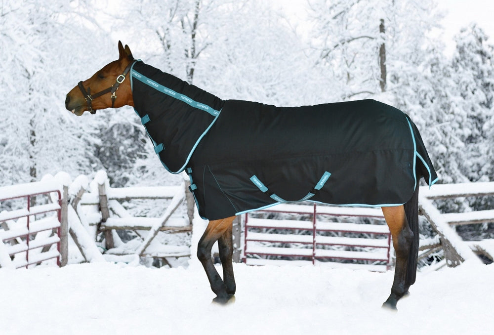 TuffRider Bonum 1200D Ripstop 360 gms Heavy Weight Turnout Blanket with Combo Neck - TuffRider - Breeches.com