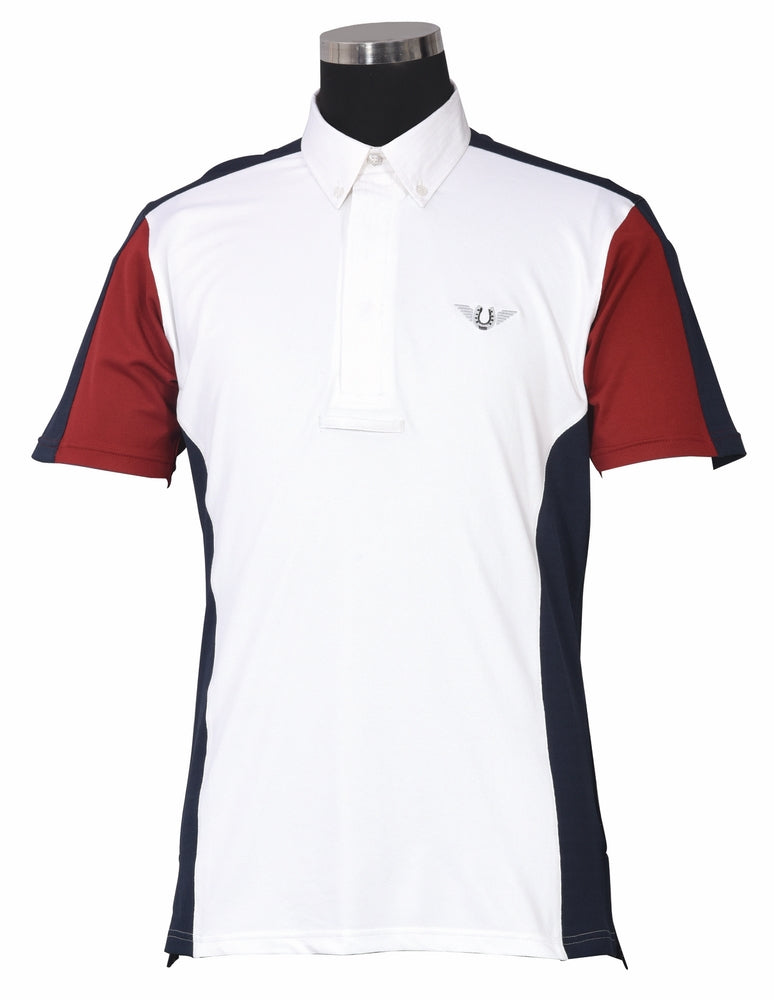 TuffRider Men's Dennison Short Sleeve Show Shirt - TuffRider - Breeches.com