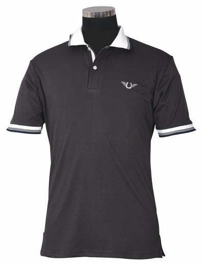 TuffRider Men's Mark Short Sleeve Polo Sport Shirt - Breeches.com