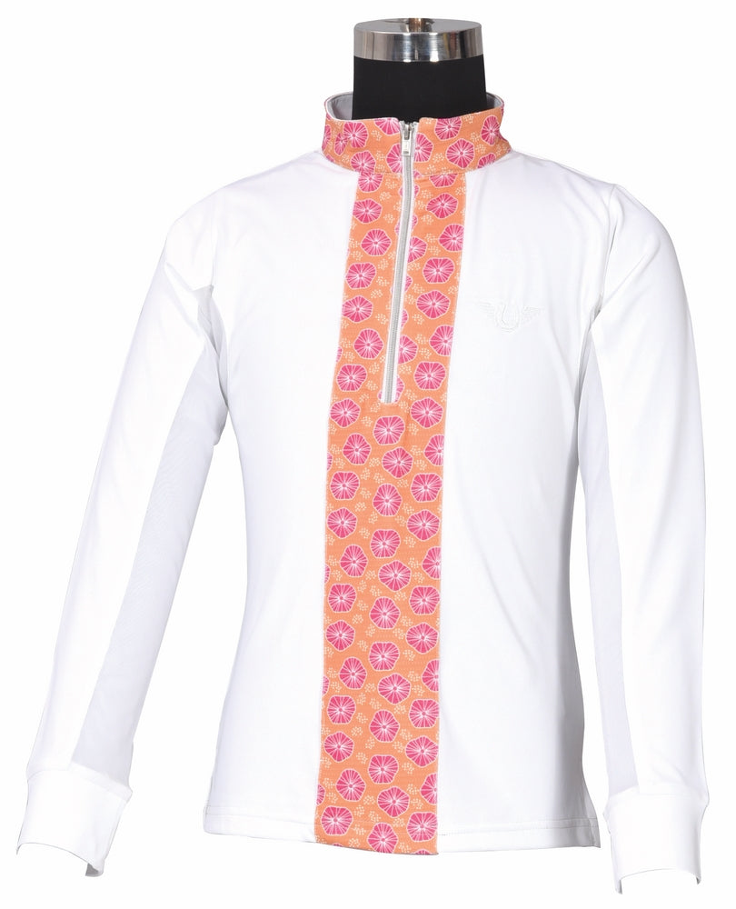 TuffRider Children's Athena EquiCool Riding Sport Shirt - Breeches.com