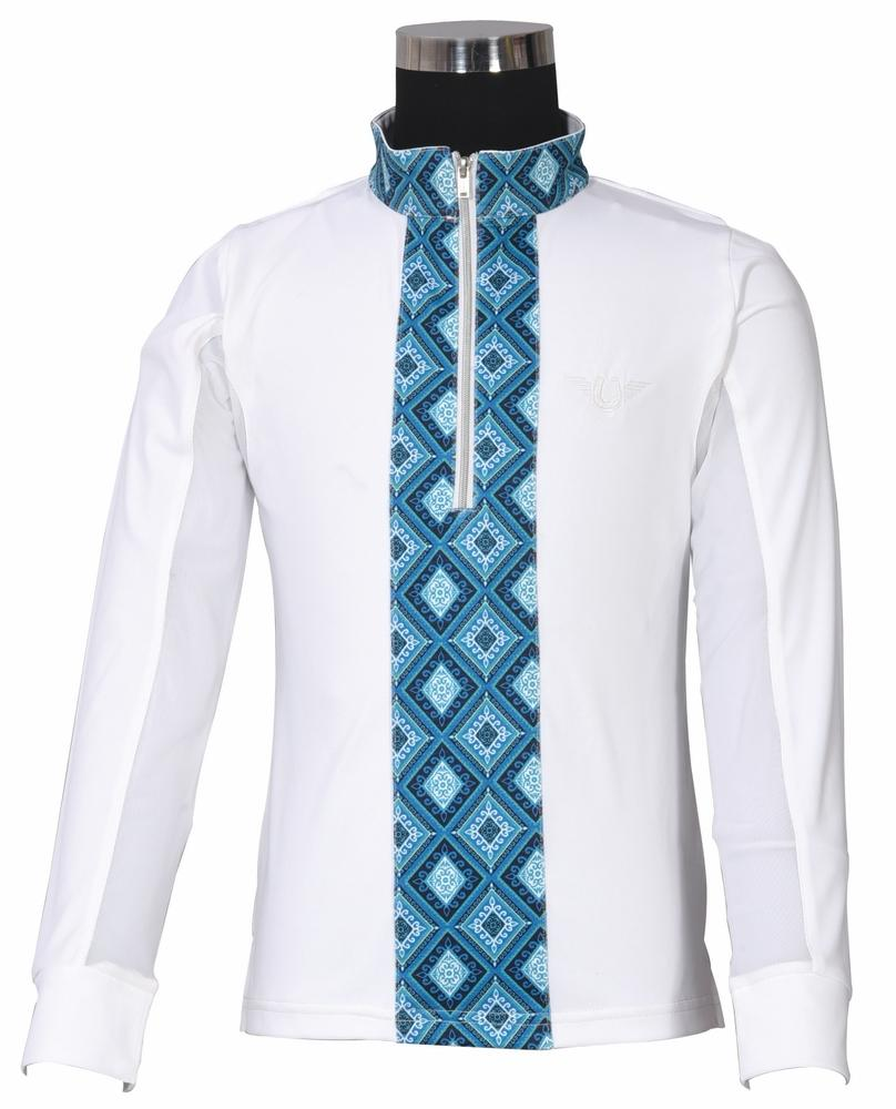 TuffRider Children's Artemis EquiCool Riding Sport Shirt - TuffRider - Breeches.com