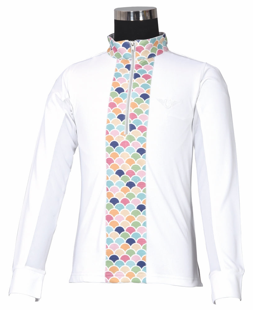 Children's Iris EquiCool Riding Shirt - TuffRider - Breeches.com