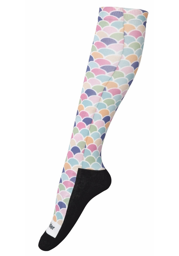 TuffRider Ladies Iris Technical Padded Knee Hi Boot Socks - Breeches.com