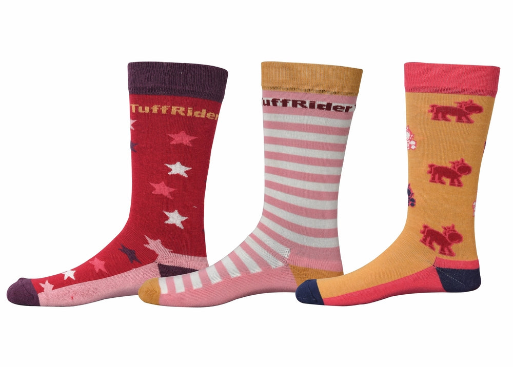 Philip Kids Socks - 3 Pack - TuffRider - Breeches.com