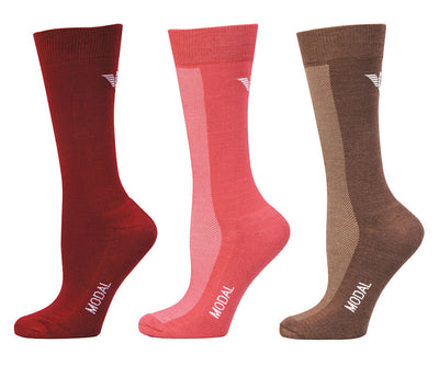 TuffRider Ladies Modal Knee Hi Socks - 3 Pack - TuffRider - Breeches.com