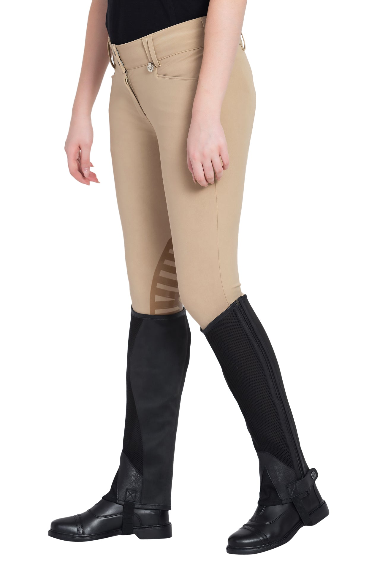 Tuffrider Air Mesh Washable Half Chaps - TuffRider - Breeches.com
