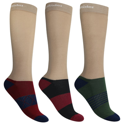 TuffRider EquiCool Ventilated Riding Socks-3 pack_6
