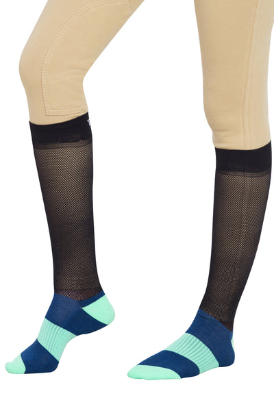 TuffRider EquiCool Ventilated Riding Socks-3 pack_4