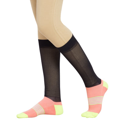 TuffRider EquiCool Ventilated Riding Socks-3 pack_3