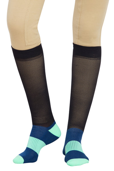 EquiCool Ventilated Riding Socks - TuffRider - Breeches.com