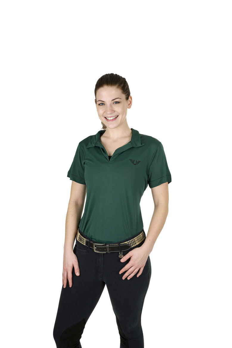 Tuffrider Ladies Taylor Short Sleeve Polo - TuffRider - Breeches.com