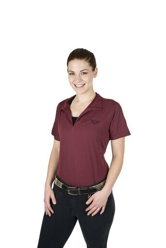 Tuffrider Ladies Taylor Short Sleeve Polo - Breeches.com