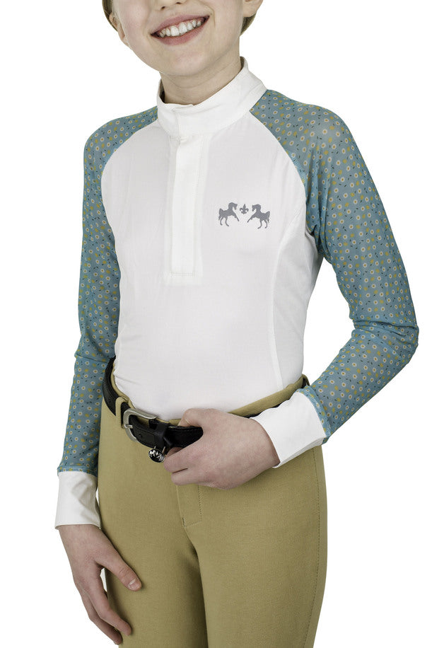 Equine Couture Children'S Smyrna Show Shirt_1
