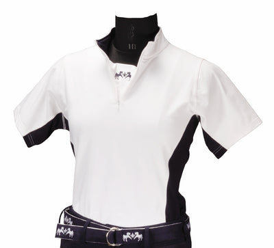 Equine Couture Ladies Sportif Technical Shirt (Short Sleeves)_3