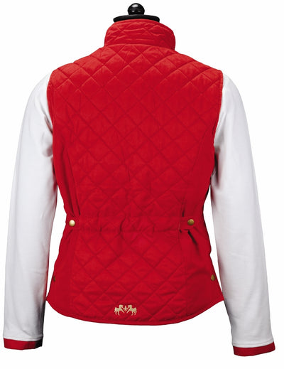 Equine Couture Ladies Spinnaker Micro Suede Vest - Breeches.com