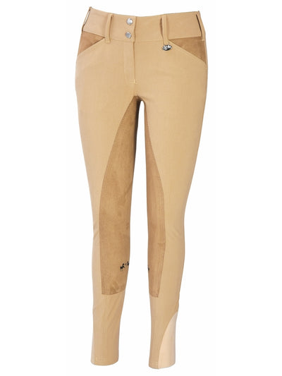 Equine Couture Ladies Sportif Full Seat Breeches with CS2 Bottom - Breeches.com