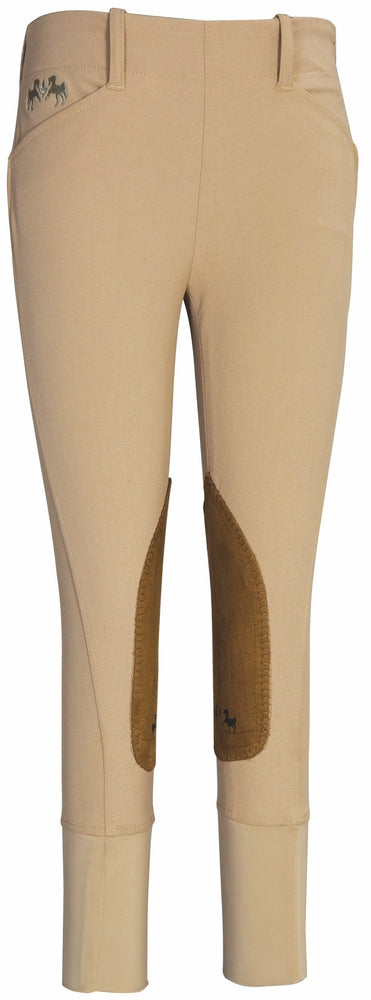 Equine Couture Children's Coolmax Champion Side Zip Breeches - Equine Couture - Breeches.com