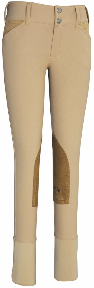 Equine Couture Children's Coolmax Champion Knee Patch Breeches - Breeches.com