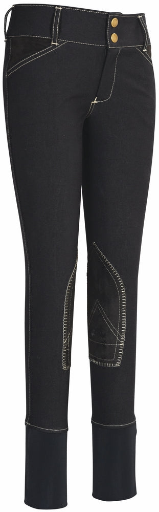 Equine Couture Children's Sportif Natasha Knee Patch Breeches - Equine Couture - Breeches.com