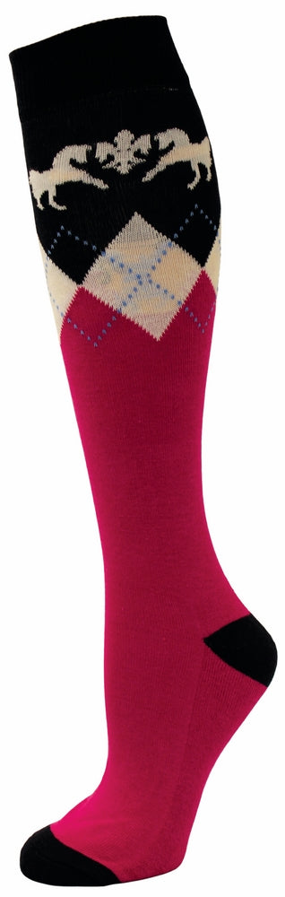 Equine Couture Ladies Hadley Knee Hi Socks - Breeches.com
