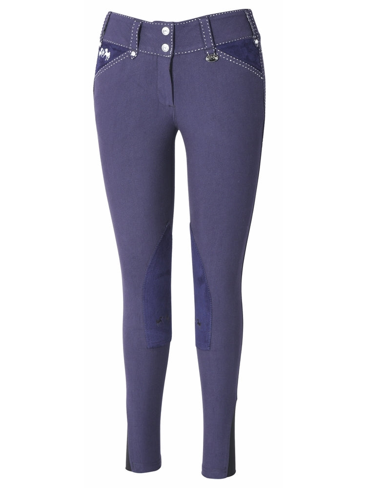 Equine Couture Ladies Blakely Knee Patch Breeches - Equine Couture - Breeches.com