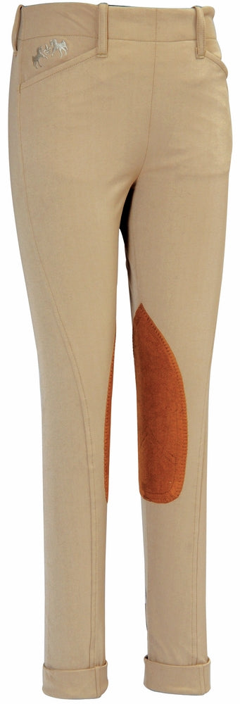 Equine Couture Children's Coolmax Champion Side Zip Jodhpurs - Equine Couture - Breeches.com