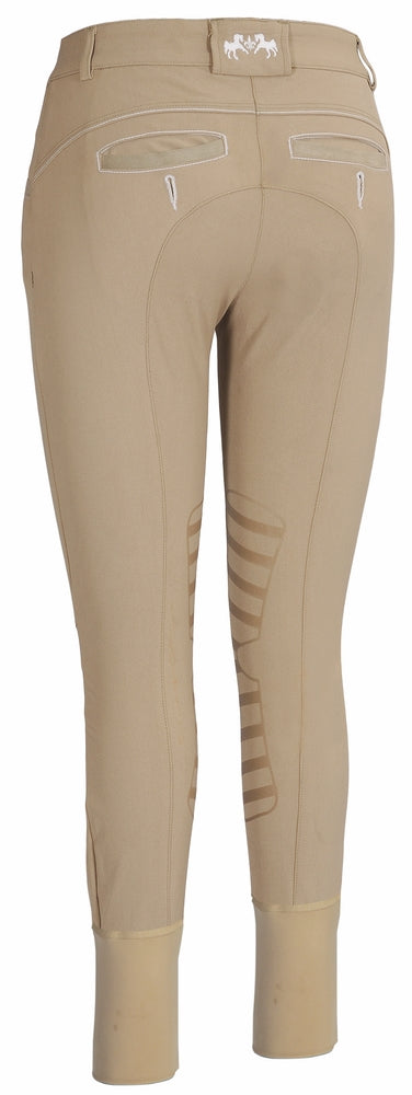 Equine Couture Ladies Ingate Knee Patch Breeches - Equine Couture - Breeches.com