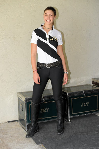 Equine Couture Ladies X-Press Short Sleeve Polo Sport Shirt_13