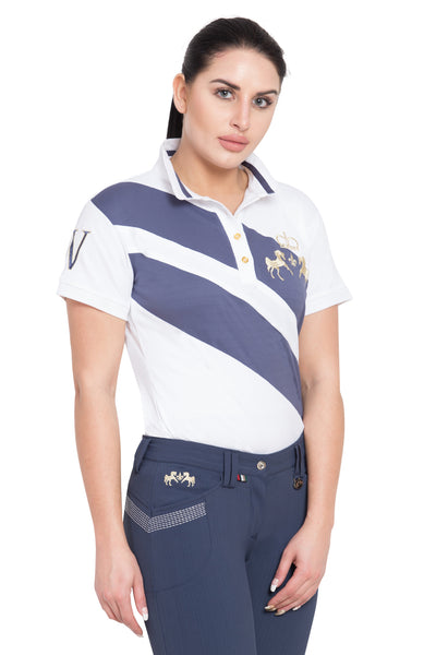 Equine Couture Ladies X-Press Short Sleeve Polo Sport Shirt_15