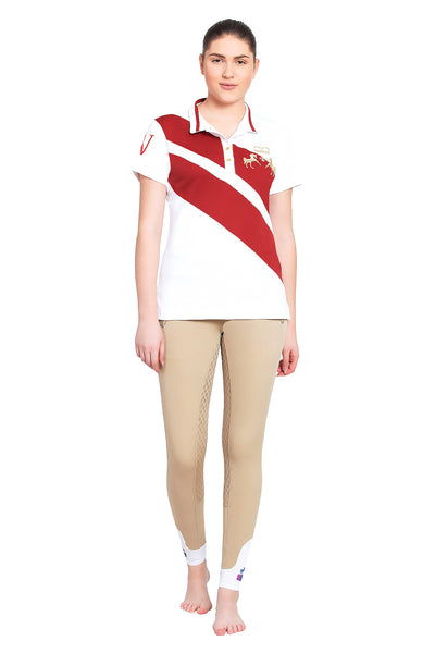 Equine Couture Ladies X-Press Short Sleeve Polo Sport Shirt_5