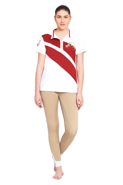 Equine Couture Ladies X-Press Short Sleeve Polo Sport Shirt_6